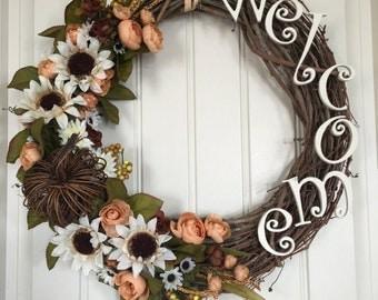 Autumn Country Wreath