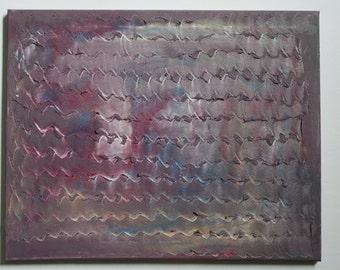Radio - 16x20 painting - acrylic on canvas