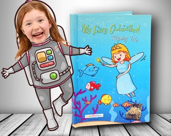 Personalised Children's Books - With your child's photo - kids books - Birthday presents for kids  - Keepsake for boys or girls - kids gifts