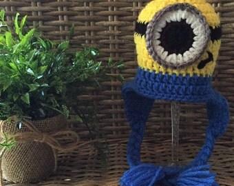 Minion Inspired Minions Crochet Hat