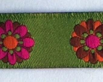 """5/8"""" (16mm) flower power ribbon"""