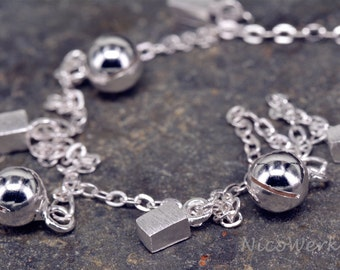 Anklet silver Bell anklets 925 ladies jewelry gift SFK109
