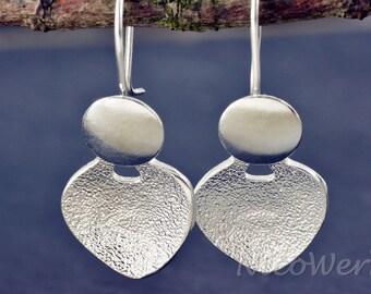 Silver earrings women's earrings jewelry earrings 925 gift SOR121