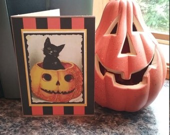 Halloween Cards - Set of 4