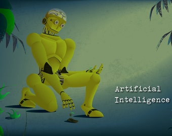 Steampunk Robot - Artificial Intelligence