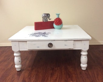 Sold Shabby Chic Coffee Table