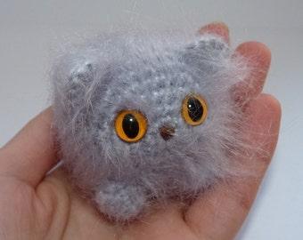 Big Cat Amigurumi : Tiny amigurumi Etsy