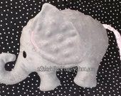 ELEPHANT Pet 3d Plush Softie ITH (In the Hoop) Stuffed Toy Baby Holiday Easter - INSTANT Download Machine Embroidery Design by Carrie