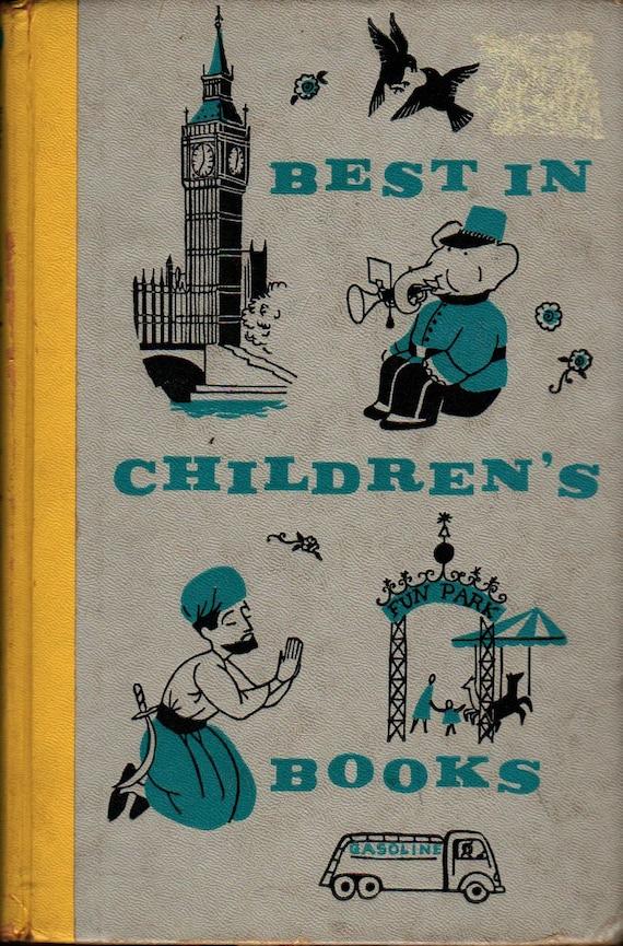 Best in Children's Books Vol. 5 - Andy Warhol, Adrienne Adams, Ninon - 1957 - Vintage Kids Book