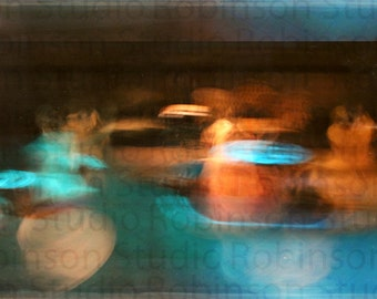 Abstract Dance. Original Digital Art Photograph. Southwestern Giclee Print. Color. Wall Decor. THE DANCE by Mikel Robinson