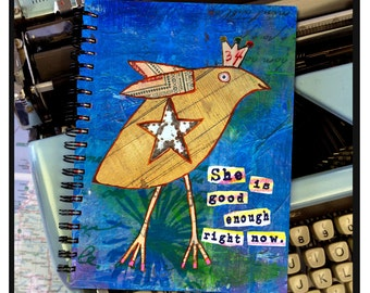 She is good enough right now. -NOTE BOOK