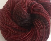 GARNET - fairy dust sock yarn