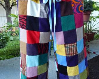 All Patchwork, Corduroy Pants, Mens Pants, womens Pants, Random patchwork pants, hippie clothes, festival boho ooak pants syf patchwork
