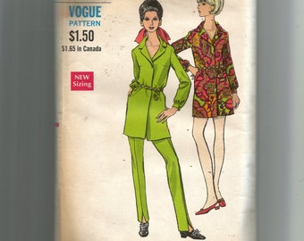 Vogue Misses' One-Piece Dress and Pants Pattern 7293
