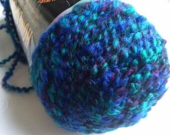 1 skein of Lion Brand Homespun yarn destash