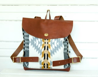 Free Shipping!- Rancho Arroyo Wool Backpack