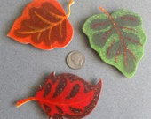 Autumn Leaves Magnet Set by Barbara Poland-Waters