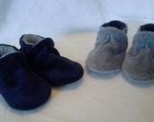 Custom Velour Slippers for T. Baker