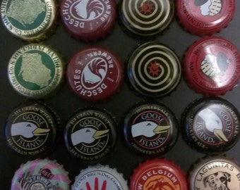16 Craft Beer Bottle Caps