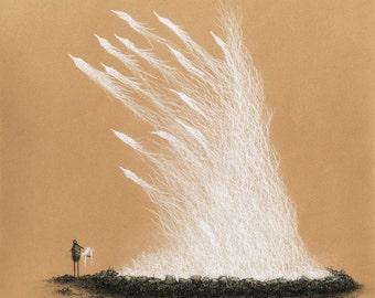 Bordering Illuminations - Limited Edition Fine Art Print