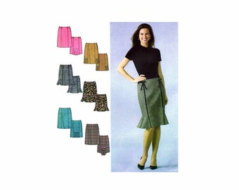 Misses Skirts with Variations Simplicity 4787 Sewing Pattern Size 6 - 8 - 10 - 12 UNCUT