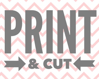Print and Cut Your Cupcake Toppers and/or Wreath & Banner files