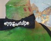 Pearl Dreams Classic adjustable bowtie by IM.BUTTERFLYCREATIONS