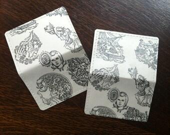 Nancy Drew Wallet, Hardy Boys Wallet, Mini-Wallet, Business Card Wallet, Credit Card Wallet, repurposed