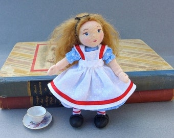 Alice in Wonderland Miniature Art Doll