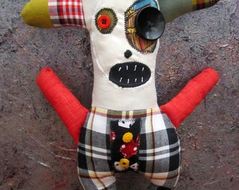 Primitive Folk Art Doll Maurice