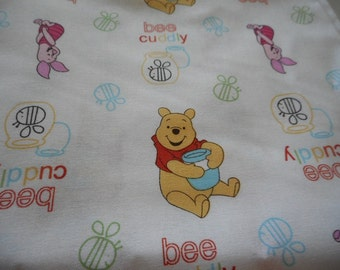 MadieBs Winnie the Pooh and Friends  Cotton  Pillowcase with Name