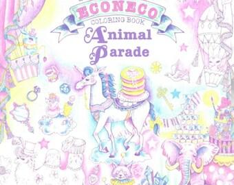 ECONECO Animal Parade - Coloring Book