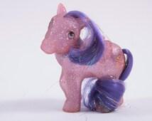My Little Pony Vintage Twinkler - Purple Pegasus with Purple Hair