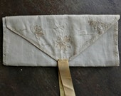 Victorian Linen Folding Pocket Pouch