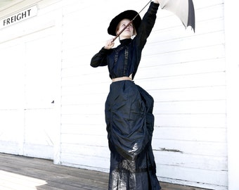 "Victorian Era Bustle Skirt 24"" to 26"" Waist"