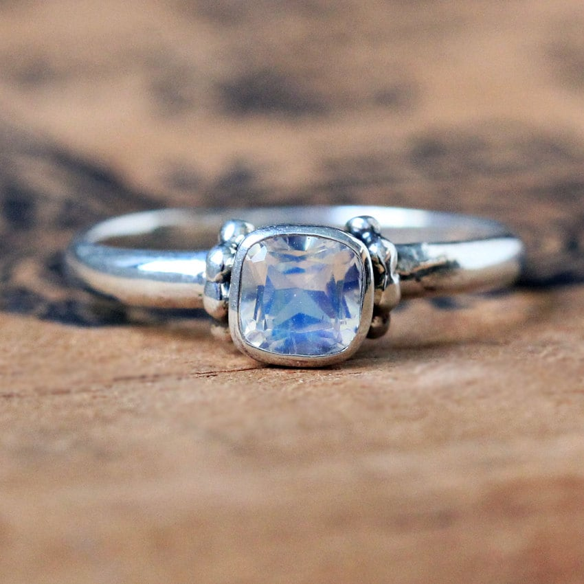Rainbow Moonstone Ring Meaning