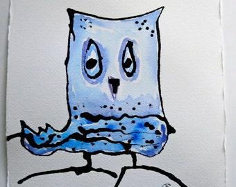 Owl Art Original