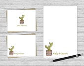 Cactus Stationery - Perso...