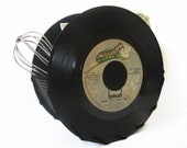 Vinyl Record Storage Container Office Desk Accessories Napkin Holder 45 rpm