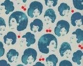 Cotton + Steel Fruit Dots - Dottie's friends blue - 50cm