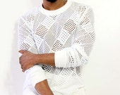 Men's Pullover Sweater, Ray Vincente