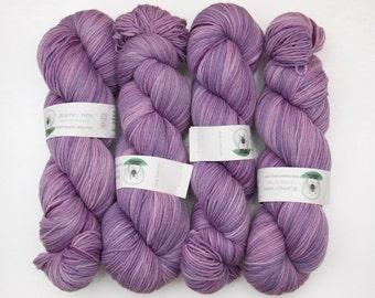 Superwash Merino Wool Sock Yarn in Orchid by Blarney Yarn