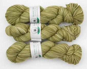 Clearance - Superwash Merino Wool Sock Yarn in Olivine by Blarney Yarn