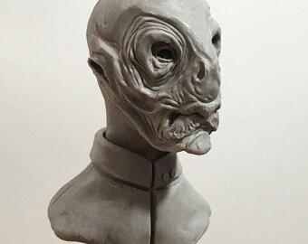 100 Heads Project - #28 Alien Delegate Star Trek Universe OC