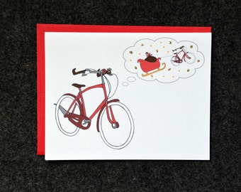 Bicycle Holiday Wishes