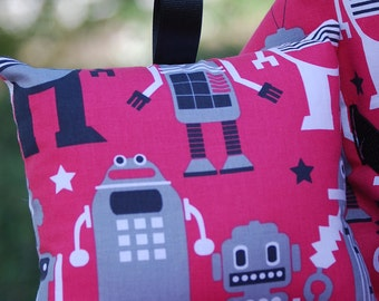 Shopping Cart Cover - Boutique shopping Cart Cover for Boy  - Autobots in Red