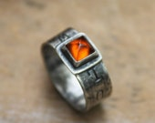 Wild Soul - Natural Madeira Citrine - Sterling Silver - Artisan Made