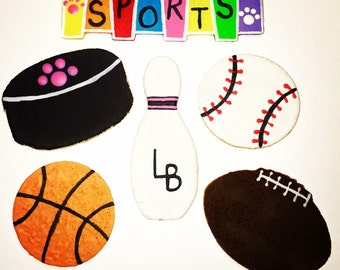 Laineys Sports Pack Gourmet Dog Cookies