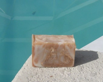 Cedarwood Vanilla  Cold Process Soap Large Vegan  5 oz    buy any 3-6 bars 5.50 Shipping