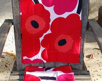 Marimekko  Maija Isola  Unikko Pillow Shams Fabric